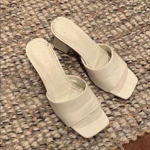 Zara Leather Heeled Sandals